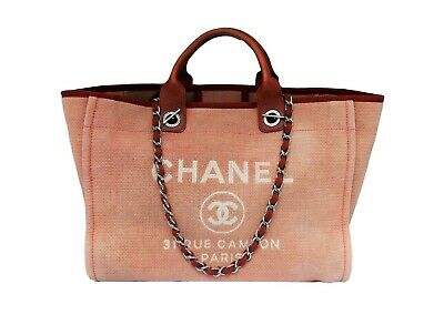 93500fd3ac19 CHANEL DEAUVILLE 30CM Large Tote Shopping Bag -  3