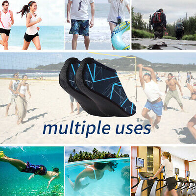 Unisex Adult Kids Barefoot Water Skin Shoes Aqua Socks Beach Swim Surf Yoga 34