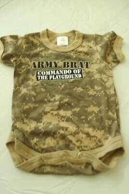 Army Brat ACU Camo 1pc BodysuitCOMMANDO OF THE PLAYGROUNDDRESSCOSTUME