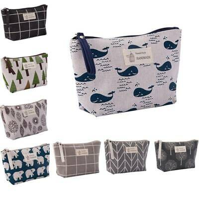 Portable Travel Cosmetic Makeup Bag Organizer Storage Toiletry Case Wash Pouch