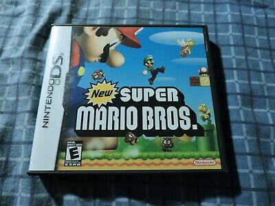 New Super Mario Bros Nintendo DS COMPLETE TESTED VERY GOOD