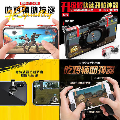 Game Mobile Phone Joystick Controller Assist Tool For STG FPS TPS Game Button