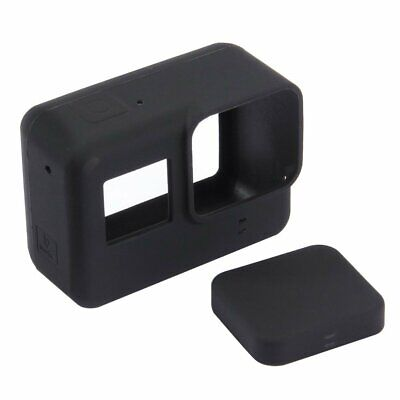 PULUZ Camera Silicone Protective Case with Lens Cover for Gopro Hero 5 Black TR