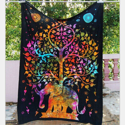Lots Style Hippie Psychedlic Tapestry Room Wall Hanging Bedspread Home Decor New