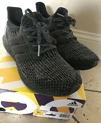 5e562757117d5 Adidas Ultra Boost 3.0 Triple Black Grey PK Mens Size 9.5 Rare BA8923  w receipt