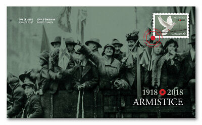 Canada 1918 - 2018 Armistice First Day Cover
