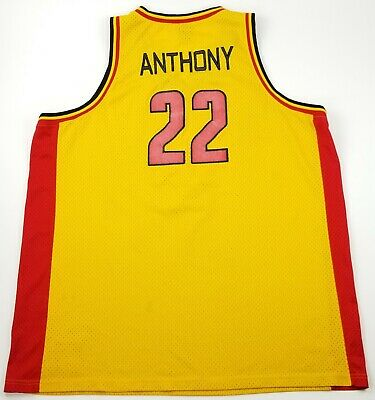 55a33216082 Carmelo Anthony Oak Hill Academy Warriors 2002 TAG Jordan Basketball Jersey  3XL
