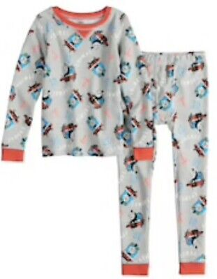 dacdec089 New Cuddl Duds Toddler Boys Size 4T Thermal Underwear Set Thomas & Friends