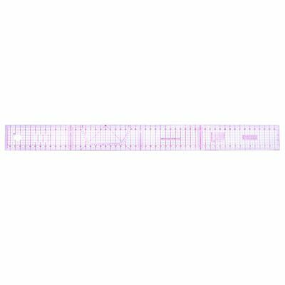 @_Multi-function Code Ruler Cutting Ruler Sewing Feet Yardstick Clear ScaleB-55