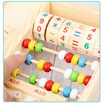 Wooden Cognitive Digital Toy Simulation Telephone Baby Play House Puzzle Toy JJ
