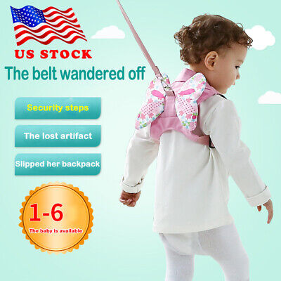 Baby Kids Safety Wing Walking Harness Toddler Anti-lost Belt Backpack Reins US