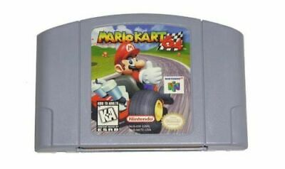 Mario Kart 64 For Nintendo 64 Video Game Cartridge Console Card USA US version