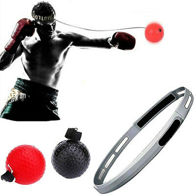 Fight Boxing Ball Head Band Boxing Punch Exercise Reflex Speed Training