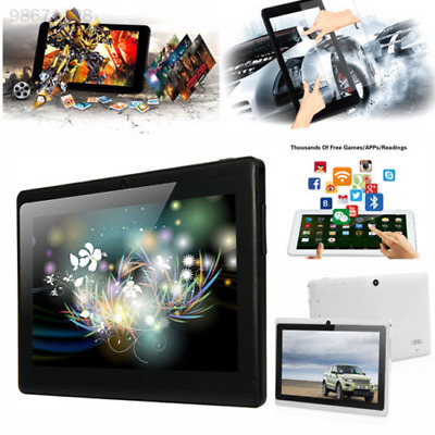 """7"""" Inch Android Tablet 16GB Quad Core Dual Camera Bluetooth Wifi Tablet GPS UK"""