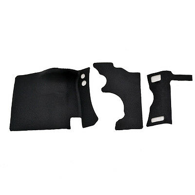 Main Front Right Grip + Back Holding Rear Grip Thumb Rubber For Canon 5DII 5D2