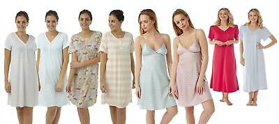 Ladies Girls Nightdress Nightie Sleepwear Nightwear Plus Size