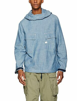 G STAR RAW MEN'S Attacc Hooded Quilted Overshirt J Choose