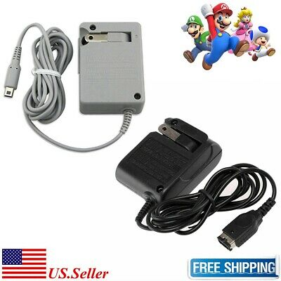 NEW AC Adapter Home Wall Travel Charger For Nintendo DS 2DS 3DS DSI XL/LL GBA SP