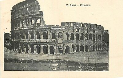Cp Italie Roma Colosseo