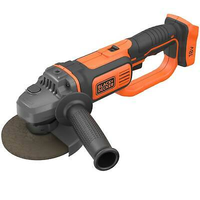 Black & Decker BCG720 18v Cordless Angle Grinder 125mm No Batteries