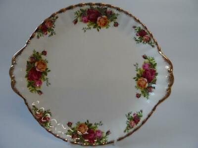 Royal Albert Old Country Roses Twin Handled Cake Plate 1St Quality 1962-73