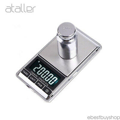 New 500g 0.01 Digital Pocket Scales Jewellery Electroninc Milligram Micro mg