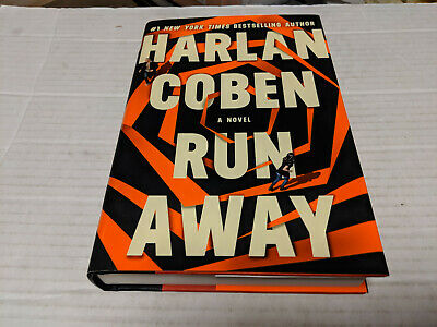 Run Away by Harlan Coben (2019, Hardcover) SIGNED 1st/1st