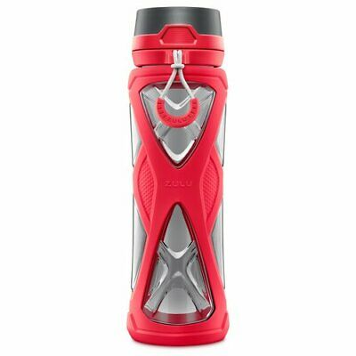 6d74f72d33 ZULU CHARGE BPA-FREE Water Bottle with 360 Dial-a-Flow Lid - Blue or ...