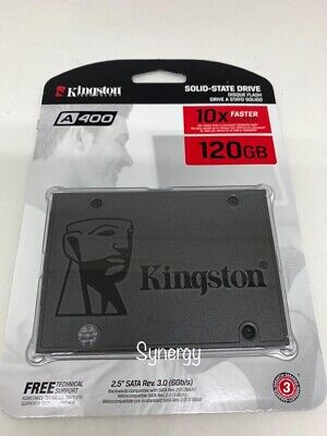 "Kingston 120GB SSD A400 2.5"" SATA 3 6 Gb/s SA400S37/120G Solid State Drive X"