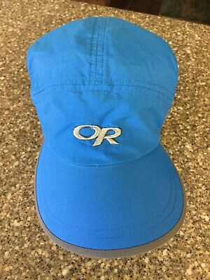 53518459 Outdoor Research Running Fitness Hat Strapback Runners Cap One Size Fits  All Euc