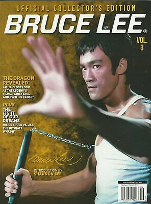 BRUCE LEE Vol 3 BRAND 2019 Collector's Edition Magazine BRAND NEW   FREE SHIP