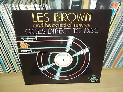 LES BROWN and his band of renown GOES DIRECT TO DISC 1977 TGAGC Limited JAZZ LP