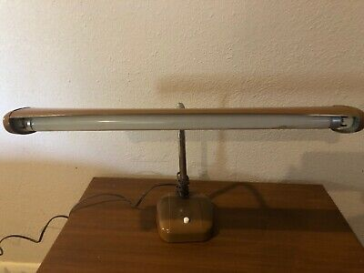 Vintage Small Goose Neck Desk Lamp Retro/Industrial Style