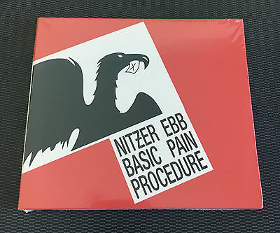 Nitzer Ebb ‎Basic Pain Procedure New CD EBM SEALED BELIEF