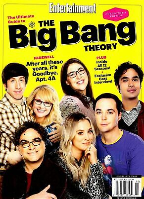 Entertainment Weekly Magazine 2019 Ultimate Guide to THE BIG BANG THEORY    NEW