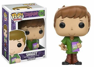 Flawed Box Funko Pop! Animation Scooby-Doo! Shaggy #150 Vinyl Figure VAULTED