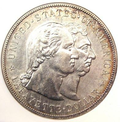 1900 Lafayette Silver Dollar $1 - ANACS UNC Details (MS) - Rare Certified Coin !