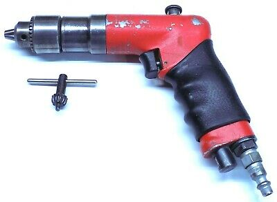 """Sioux 1/4"""" Reversible Mini Palm Drill with Jacobs Chuck Aircraft Tool"""
