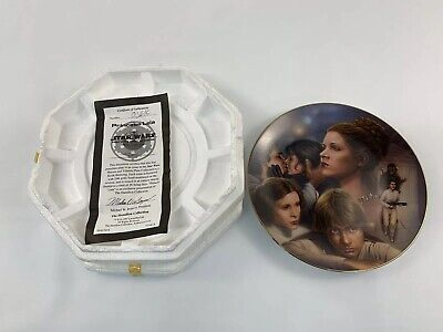 STAR WARS Princess Leia The Hamilton Collection Collectors Plate 1997 Limited