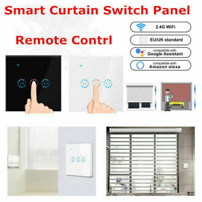 Automatic Curtain Control System Us Smart Wifi Touch Curtain Switch App Control Support Alexa Google Home For Electric Motorized Curtain Blind Roller Shutter Cheap Sales