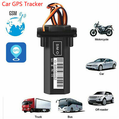 Car Moto Vehicle GPS Tracker GT02 Realtime GSM GPRS Locator Tracking Device -1X