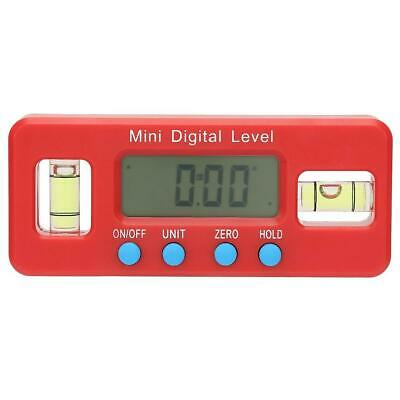 Mini Inclinometer Angle Meter Digital Protractor Electronic Level Box 100mm