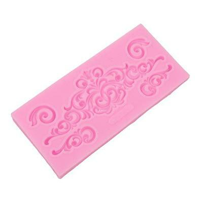 Silicone Fondant Cake Embossing Gum Paste Decorating Baking Mold LP