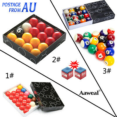 """Billiard Pool Ball set 2-1/16"""" Snooker 22 ball,2"""" Red and Yellow/Fancy 16 Ball"""