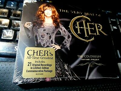 The Very Best Of Cher  CD Caesars Palace Colosseum Edition NEW Greatest Hits LTD