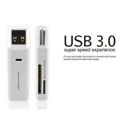 1X MINI up to 5Gbps Super Speed USB 3.0 Micro SD/SDXC TF Card Reader Adapters