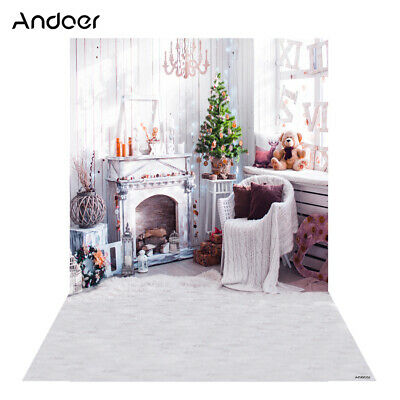 Andoer 1.5 * 2m Photography Background Backdrop Digital Printing Christmas D1O9