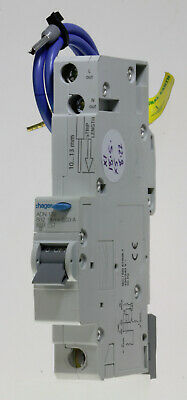 Hager ADN132-106364 - 32a 30mA Type B Single Pole AC Type RCBO Used