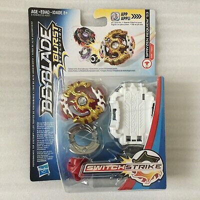 NEW Beyblade Spryzen Requiem S3 D44 Burst Evolution SwitchStrike Starter Hasbro