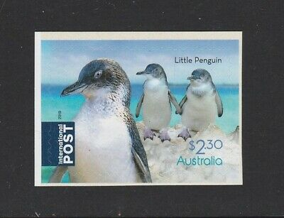 AUSTRALIA 2019 - FLIGHTLESS BIRDS $2.30 Self Adhesive P&S Penguin Stamp  MNH